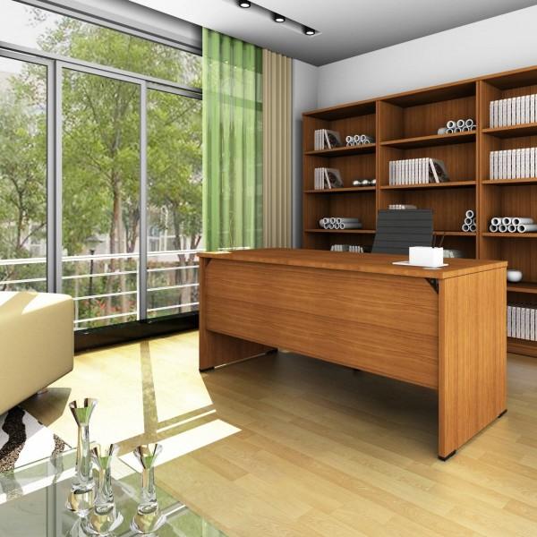 Wood Line Desk